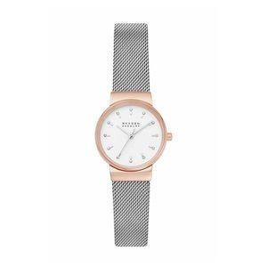 Skagen Ancher Two-Tone Mesh Bracelet Watch